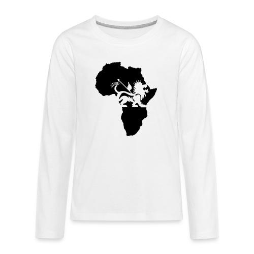 lion_of_judah_africa - Teenagers' Premium Longsleeve Shirt