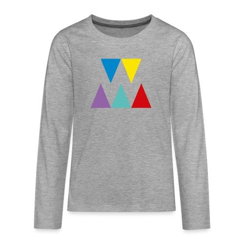 Logo We are les filles - T-shirt manches longues Premium Ado