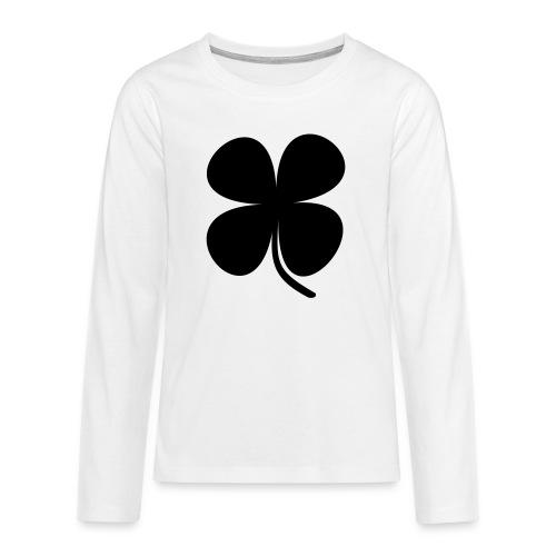 CLOVER - Camiseta de manga larga premium adolescente