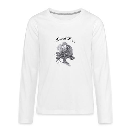 death note t-shirt - T-shirt manches longues Premium Ado