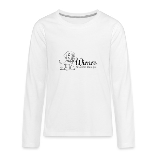 Wiener Wunder Hund - Teenager Premium Langarmshirt