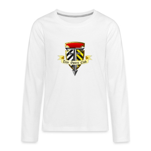 TOC Gothic Clear Background 1 - Teenagers' Premium Longsleeve Shirt