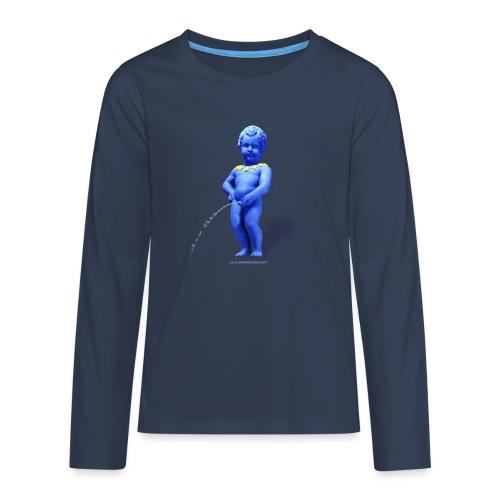 EUROPA mannekenpis ♀♂ | Enfant - T-shirt manches longues Premium Ado
