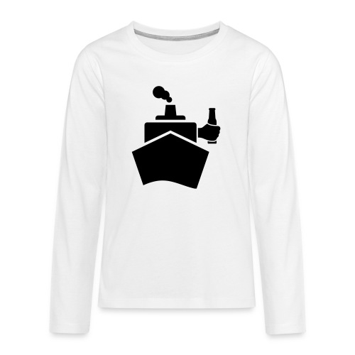 King of the boat - Teenager Premium Langarmshirt