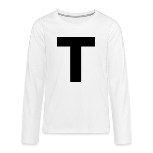 Tblack - Teenager Premium Langarmshirt