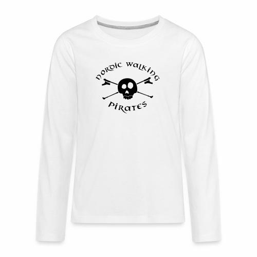 NordicWalkingPirates_2017 - Teenager Premium Langarmshirt