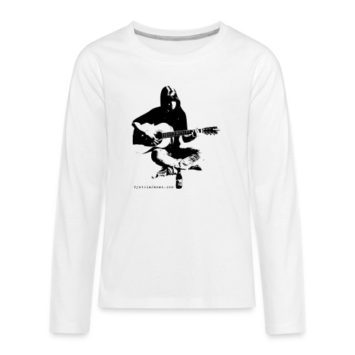 Cynthia Janes guitar BLACK - Teenagers' Premium Longsleeve Shirt