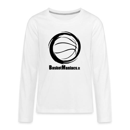 Basket Maniacs - Maglietta Premium a manica lunga per teenager