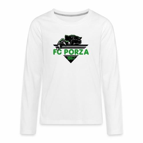 FC Porza 1 - Teenager Premium Langarmshirt