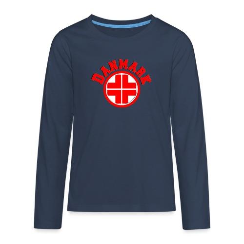 Denmark - Teenagers' Premium Longsleeve Shirt