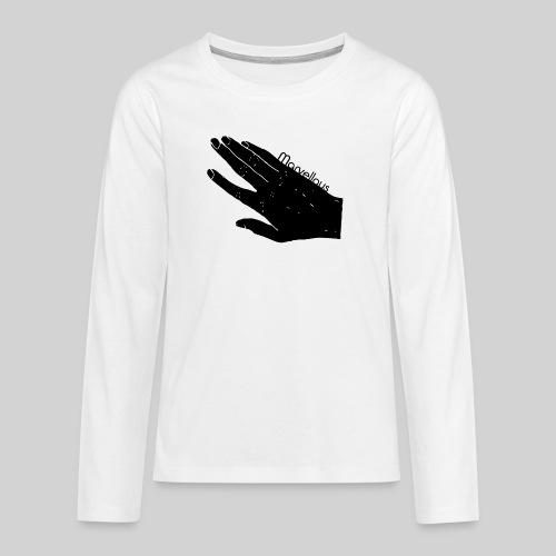 Marvellous Hand - Teenager Premium Langarmshirt