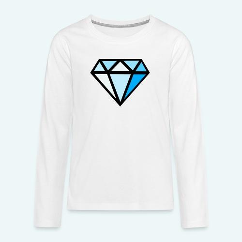FCTimantti logo ilman tekstia - Teinien premium pitkähihainen t-paita