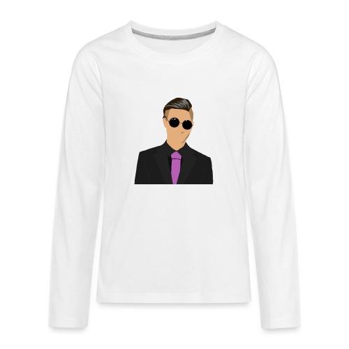Odenshuge - Teinien premium pitkähihainen t-paita
