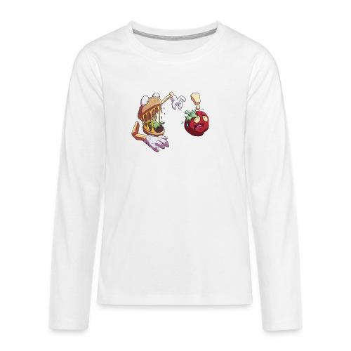 Tomato Chase - Långärmad premium T-shirt tonåring