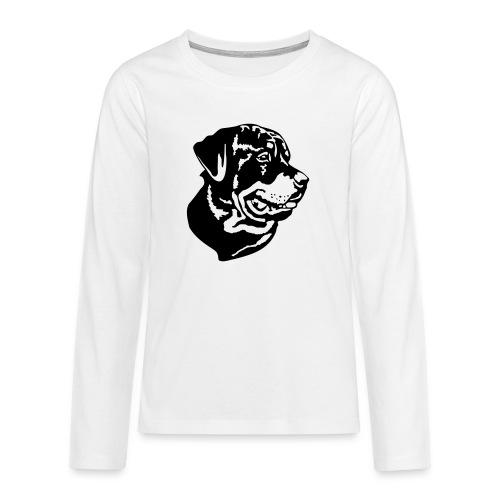 Rottweiler - Teenager Premium Langarmshirt