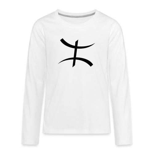 Motif Kabyle - T-shirt manches longues Premium Ado