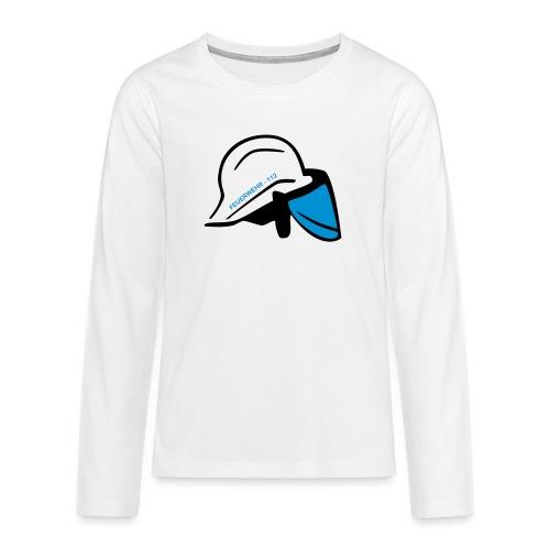 Feuerwehr Helm - Teenager Premium Langarmshirt