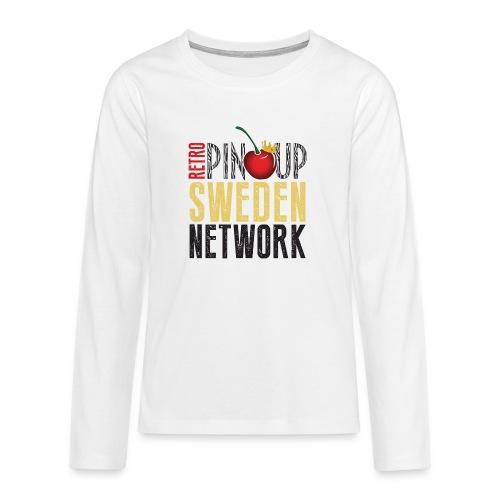 Tanktop Retro Pinup Sweden Crew utsvängd - Långärmad premium T-shirt tonåring