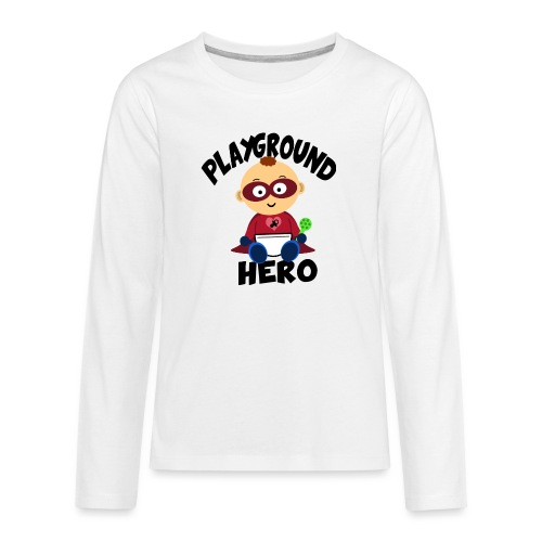 Playground Hero - Teenager Premium Langarmshirt