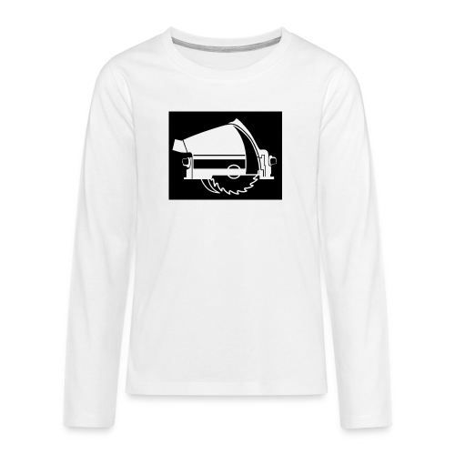saw - Teenagers' Premium Longsleeve Shirt