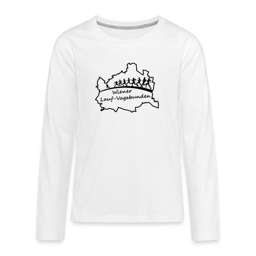 Laufvagabunden T Shirt - Teenager Premium Langarmshirt