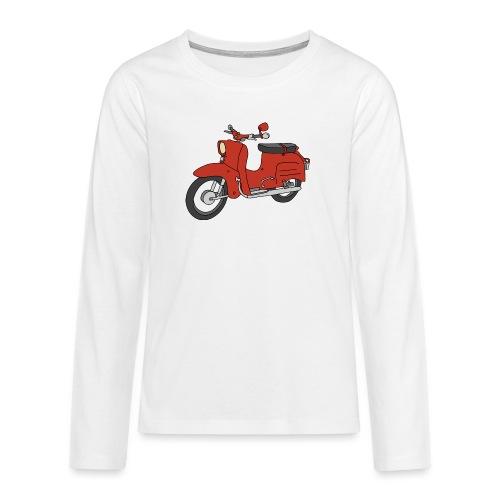 Schwalbe (ibizarot) - Teenager Premium Langarmshirt
