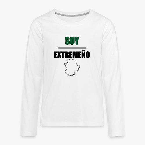 Soy Extremeño. - Camiseta de manga larga premium adolescente