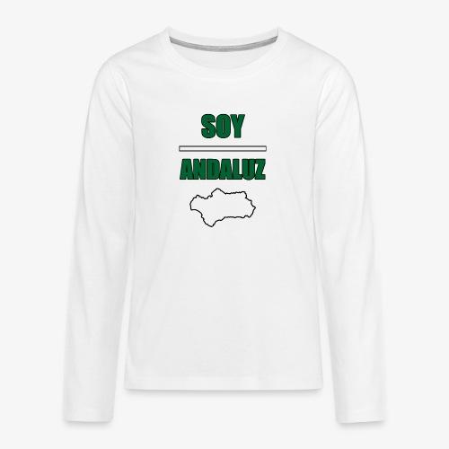 Soy Andaluz - Camiseta de manga larga premium adolescente
