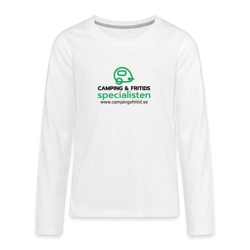 Camping & Fritidsspecialisten NEW 2020! - Långärmad premium T-shirt tonåring
