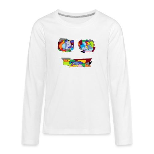 TheFace - Teenager Premium Langarmshirt