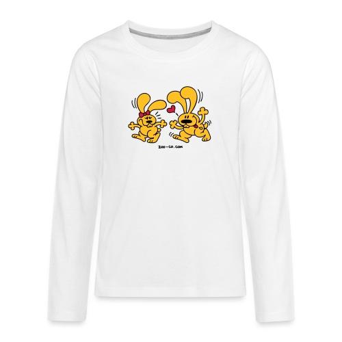 Hot Bunnies - Teenagers' Premium Longsleeve Shirt