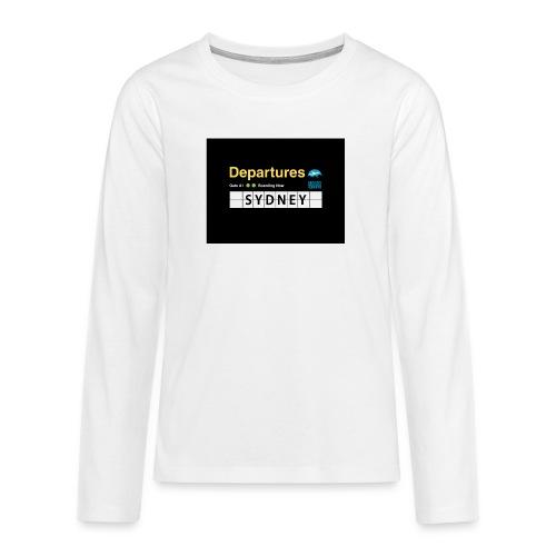 SYDNEY png - Maglietta Premium a manica lunga per teenager