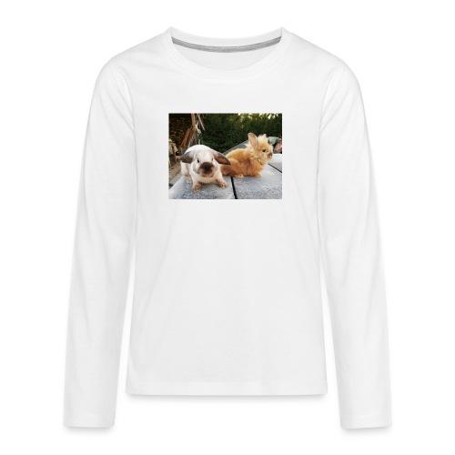 Nouche en Ninou - Teenager Premium shirt met lange mouwen