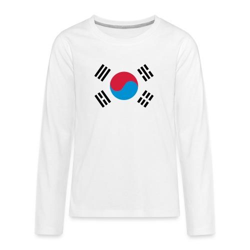 South Korea - Teenager Premium shirt met lange mouwen