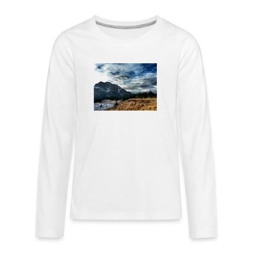 Wolkenband - Teenager Premium Langarmshirt