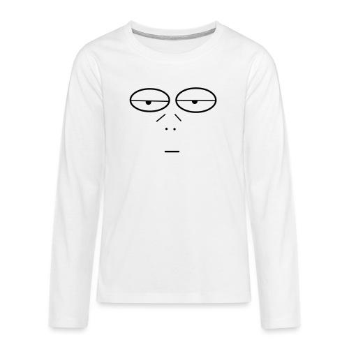 Volto Lenzuolo - Maglietta Premium a manica lunga per teenager