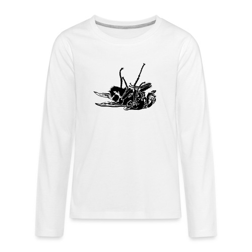 mouche morte - T-shirt manches longues Premium Ado
