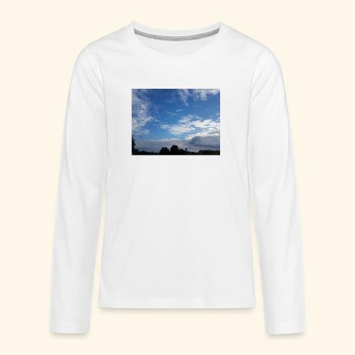himmlisches Wolkenbild - Teenager Premium Langarmshirt