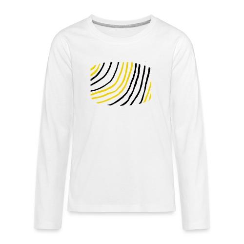Raidat - Teinien premium pitkähihainen t-paita