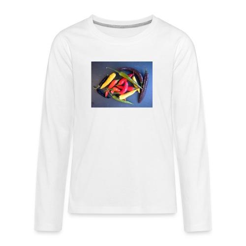 Chili bunt - Teenager Premium Langarmshirt