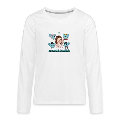 TwitchID - Teenager premium T-shirt med lange ærmer