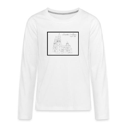 T Shirt Basilika St Lorenz Kempten Allgaeu - Teenager Premium Langarmshirt