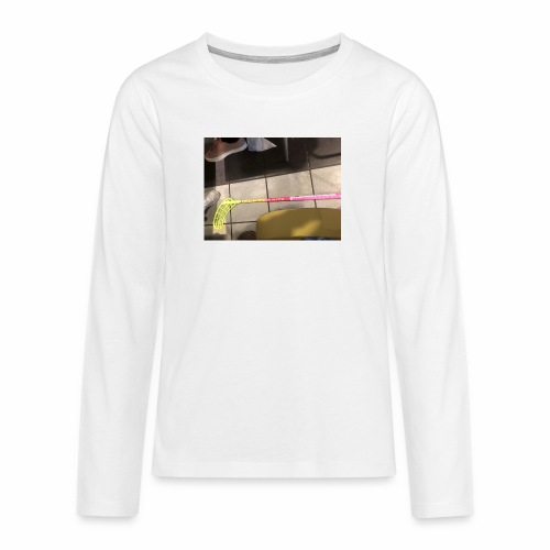 Anton - Långärmad premium T-shirt tonåring