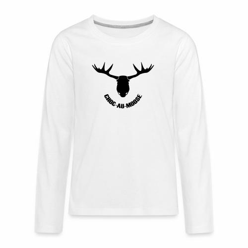 choc au moose - Teenager Premium shirt met lange mouwen