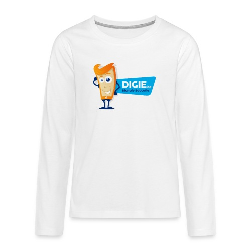 Digie.be - Teenager Premium shirt met lange mouwen