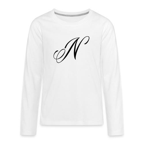 NUTTELOGO2NEW - Teenagers' Premium Longsleeve Shirt