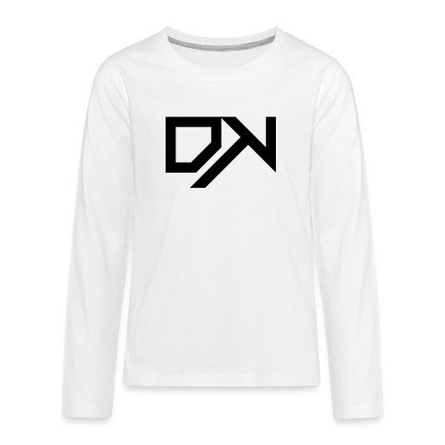 DewKee Logo Samung Galaxy S4 Case Black - Teenagers' Premium Longsleeve Shirt