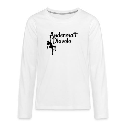 Andermatt Diavolo Uri Geschenkidee - Teenager Premium Langarmshirt