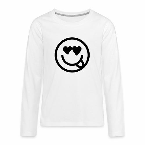 EMOJI 19 - T-shirt manches longues Premium Ado