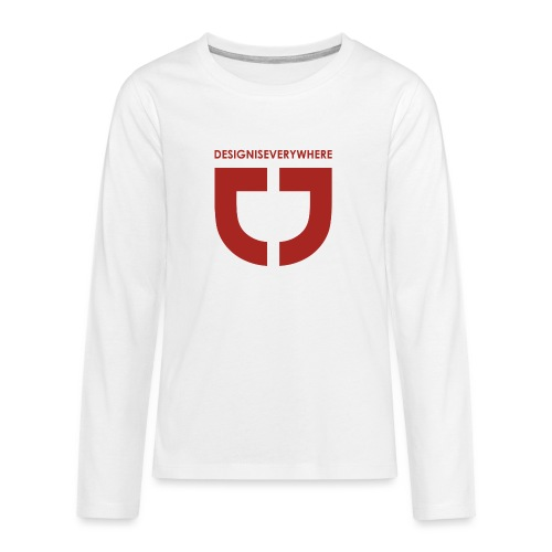 RED DEE - Teenagers' Premium Longsleeve Shirt